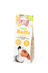 ТИТБИТ Rolls Печенье для собак мелких пород с начинкой из мяса индейки и сыра 100г
