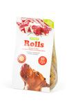 ТИТБИТ Rolls Печенье для собак средних и крупных пород с начинкой из мяса ягненка 200г
