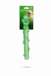 """I.P.T.S. Игрушка для собак """"Палка"""" зеленая, TPR 30см"""