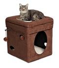 MidWest Домик для кошки Currious Cat Cube, размер 40х40х42см. НОВИНКА!!!