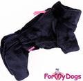 ForMyDogs Комбинезон из мягкого искусственного меха, модель для мальчиков, размер 14