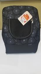 """DOGMAN Рюкзак для собак и кошек """"Вояж"""", черный, 38х32х30см."""