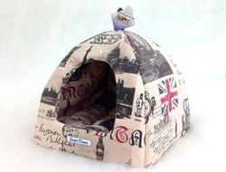 """Бобровый дворик Лежак домик для собак и кошек """"Сладкий Сон"""" Лондон"""