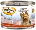 МНЯМС Консервы для собак Террин по-Версальски (телятина с ветчиной), 200г