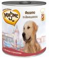 МНЯМС Консервы для собак Фегато по-Венециански (телячья печень с пряностями), 600г