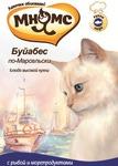 МНЯМС Паучи для кошек Буйабес по-Марсельски (рыба с морепродуктами), 12штх85г