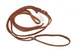 Hello Pet Ринговка для собак с кольцом светло коричневая 120смх5мм.