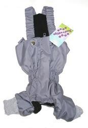 ZooPrestige Брюки для собак, утепленные, серый цвет, на флисе, размер S, XL