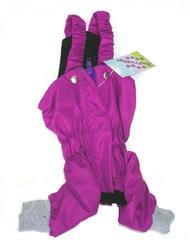 ZooPrestige Брюки для собак, утепленные, фиолетовый цвет, на флисе, размер XL