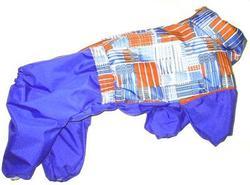 LifeDog Дождевик для собак с утепленной спиной, сиреневый, размер 2XL, спина 43см