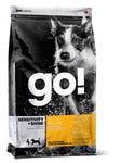 Petcurian Pet Nutrition Go! Natural Корм для щенков и собак с Уткой и овсянкой, сух.