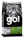Petcurian Pet Nutrition Go! Natural Беззерновой Корм для щенков и собак с Индейкой для чувствительного пищеварения, сух.