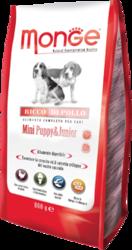 MONGE Dog Mini корм для щенков мелких пород, сух.800 г