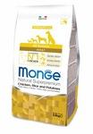 MONGE Dog Speciality корм для собак всех пород курица с рисом и картофелем, сух.