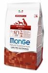 MONGE Dog Speciality корм для собак всех пород ягненок с рисом и картофелем, сух.