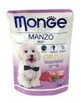 MONGE Dog Grill Pouch паучи для собак говядина 100 г