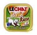 MONGE Lechat консервы для кошек курица/индейка 100 г
