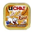 MONGE Lechat консервы для кошек лосось/креветки 100 г