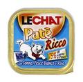 MONGE Lechat консервы для кошек тунец/океаническая рыба/рис 100 г