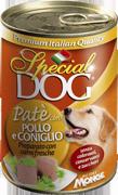 MONGE Special Dog консервы для собак паштет курица с кроликом 400 г