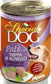 MONGE Special Dog консервы для собак паштет рубец ягненка 400 г