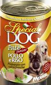 MONGE Special Dog консервы для щенков паштет курица с рисом 400 г
