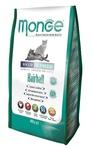 MONGE Cat Hairball корм для кошек для выведения шерсти, сух.