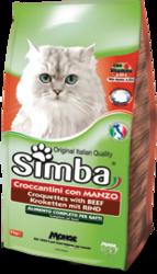 MONGE Simba Cat корм для кошек с говядиной, сух.