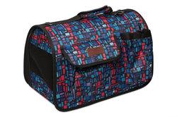 Lion Сумка-переноска Премиум с карманами, синяя/красная, №4, размер 50х31х30см