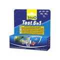 Tetra Тест 6 в 1 GH/KH/NO2/NO3/pH/Cl полоски для пресной воды 25 шт.