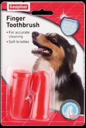 Beaphar Зубная щетка двойная для собак на палец