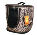 DOGMAN Рюкзак для собак и кошек малый леопард, размер 29х26х25см