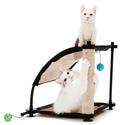 """Kitty City Игровой комплекс с когтеточкой для кошек: Белая гора. """"Climbing Hill"""": 44*45*45см, сизаль (sp0304)"""