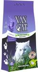 Van Cat Комкующийся наполнитель с ароматом Лаванды, пакет (Lavender) ФИОЛЕТОВЫЙ urn1012