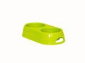 Moderna Миска двойная пластиковая Eco duplex, лимонный