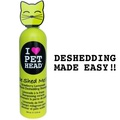 """Pet Head DE SHED ME for Cats Шампунь клубнично-лимонадный """"Чудо-линька"""" для линяющих Кошек , без сульфатов и парабенов, 355мл"""