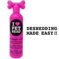 """Pet Head DE SHED ME!! for Dogs Кондиционер арбузный """"Чудо-Линька"""" для линяющих Собак с кокосовым маслом, 355мл"""