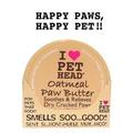 Pet Head OATMEAL Natural Paw Butter Масло для потрескавшихся Лап с маслами ши, овсянки, жожоба, кокоса, оливок и алоэ вера, 50гр