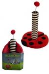"Papillon Когтеточка ""Божья коровка"" 43*31*31см (Cat scratcher ladybird red/black in promobox) 210101"