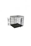 Papillon Клетка металлическая с 2 дверками, 61*54*58 см, черная (Wire cage black 2 doors)151261