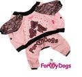"ForMyDogs Костюм для собак ""Бабочка"" из мягкого трикотажа без капюшона, размер 8"