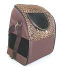 "DOGMAN Рюкзак для собак и кошек""Вояж"", леопард, размер 38х29х22см"