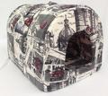 """Бобровый дворик Домик - Нора для собак и кошек, """"Город"""", 53*39*39см. НОВИНКА!!"""
