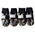 Al1 Ботиночки-носочки для крупных пород собак, милитари, размер 2XL