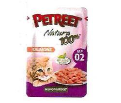 PETREET Пауч для кошек Лосось 70г.