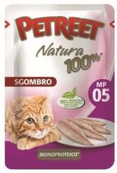 PETREET Пауч для кошек Макрель 85 г.