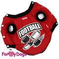 ForMyDogs Куртка для собак без рукавов и без капюшона из полиэстера, размер 12, 14