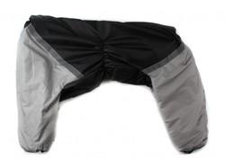 ZooPrestige Комбинезон для крупных собак черно/серый, размер 7XL, спина 70см