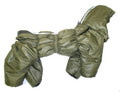 ZooPrestige Комбинезон утепленный Дутик, хаки, размер 2XL, спина 40-44см