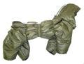 ZooPrestige Комбинезон утепленный Дутик, хаки, размер 3XL, синтепон, спина 44-48см
